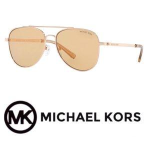 Michael Kors Aviators Rose Gold Aviators